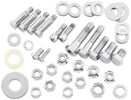 Bikers Rear Choice Axle (Bikers Choice Rear Axle Nut and Washer Kit F/64085)