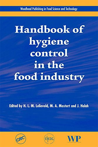 Handbook of Hygiene Control in the Food Industry (Woodhead Publishing Series in Food Science, Technology and Nutrition) Pdf