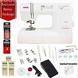 Janome HD3000 Mechanical Sewing Machine Bundle with 5 Piece Kit