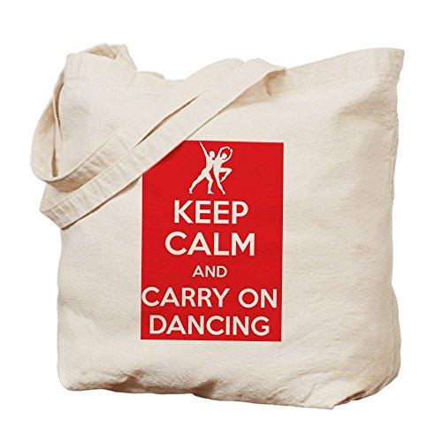CafePress Keep calm and carry on dancing bolso - Multi-color estándar