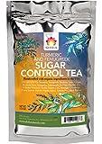Shifa Sugar Control Tea (Turmeric and Fenugreek): Herbal Formula for Sugar Balance and Metabolism with Phytonutrients and Antioxidants — 1.5 oz.