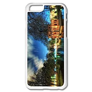 Favorable Scenic Plastic Cover For IPhone 6