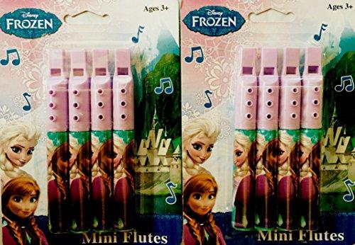 Frozen Favor Bags, Frozen Flutes, Frozen Decor, Tiaras, Frozen Cup (56 Pieces) including a Personal Royal Note