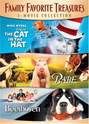 Family Favorite Treasures 3-Movie Collection (The Cat In The Hat / Babe / Beethoven) (Babe Collections)