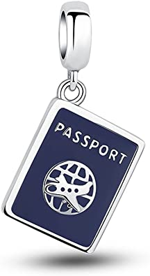 passaporto charm pandora