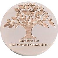 Toyvian Caja de Dientes de Bebé Organizador Almacenamiento