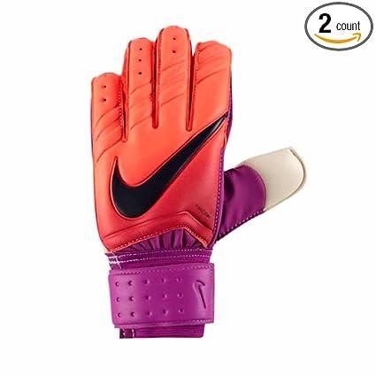 quality design 92694 17d15 Nike Spyne Pro Goalkeeper Gloves Total Crimson Hyper Grape Obsidian - 6