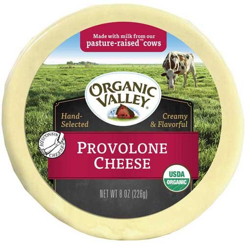 Organic Valley Organic Pasture Provolone Cheese, 8 Ounce -- 12 per case.