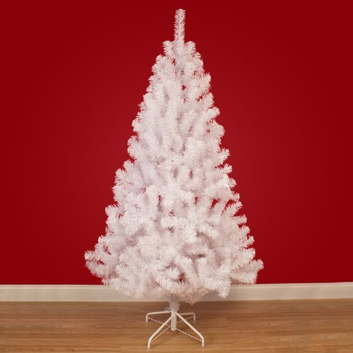 4ft White Artificial Hudson Christmas Tree 120cm: Amazon.co.uk ...