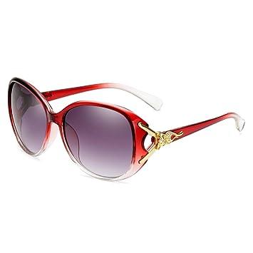 CYCY Gafas de Sol de Cara Redonda Gafas de Sol Femeninas ...