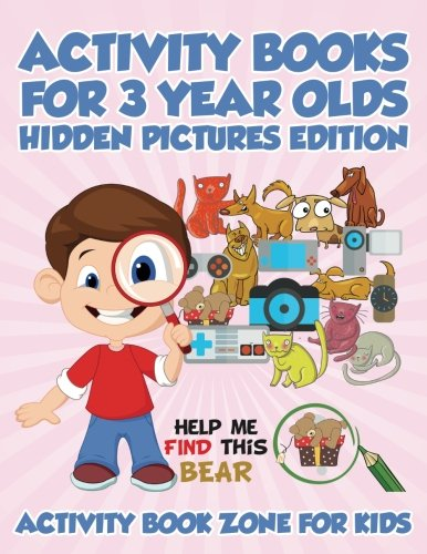 activity books for 3 year olds hidden pictures edition activity book zone for kids 9781683762720 amazoncom books