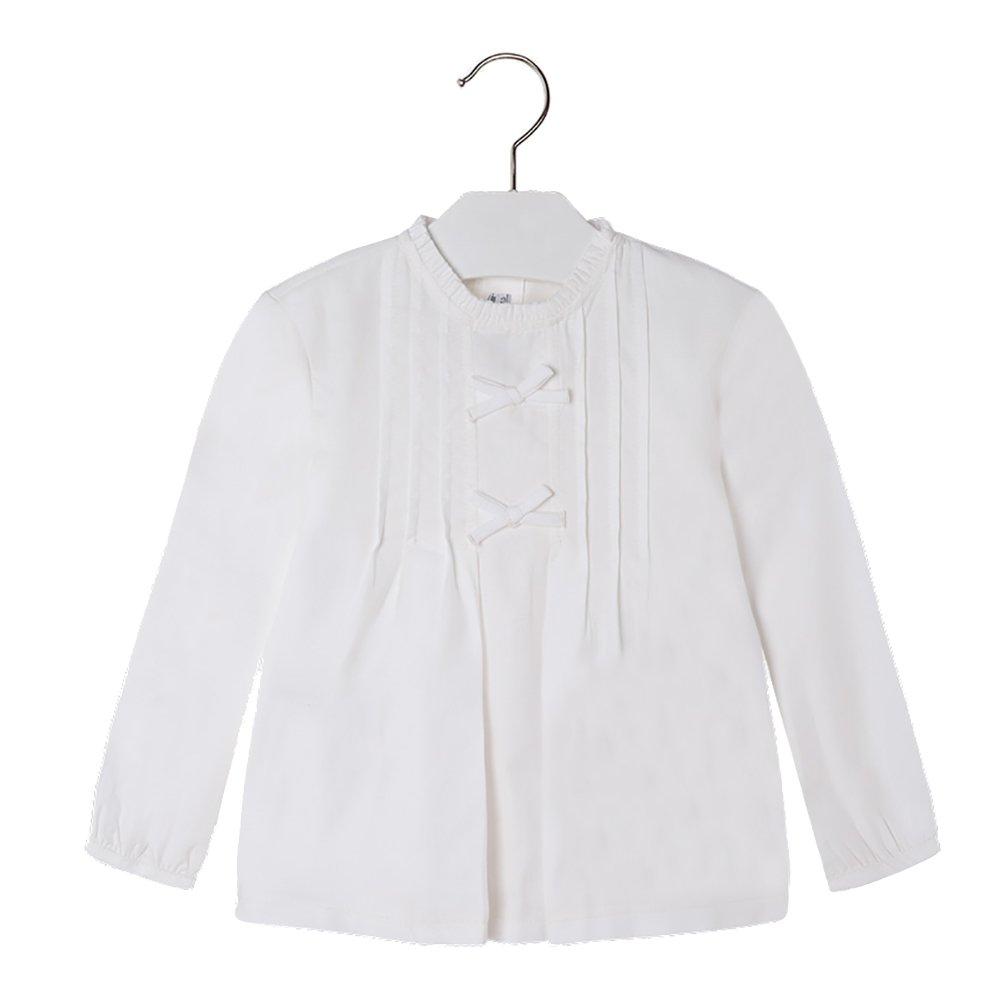 Mayoral White Casing Blouse