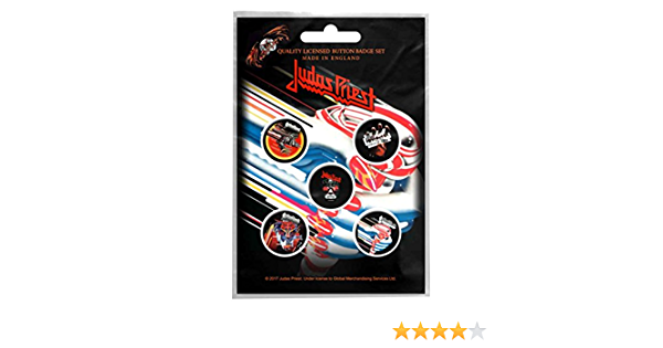 Judas Priest Pin Badge British Steel