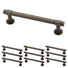 "Franklin Brass P29617K-WCN-B Straight Bar Pull 4"" (102mm) Aged Bronze 10 Piece"