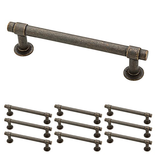 Franklin Brass P29617KWCNB Francisco Drawer Pulls Cabinet Hardware Collection Cabinet Pulls 4 in Aged Bronze 10 pack