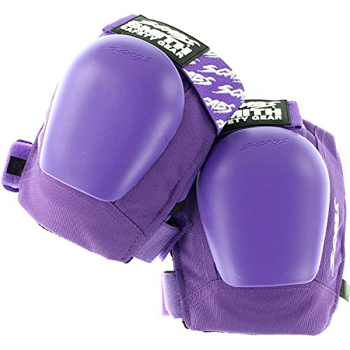 Smith Safety Gear Scabs Junior Purple Knee Pads - Small/Medium