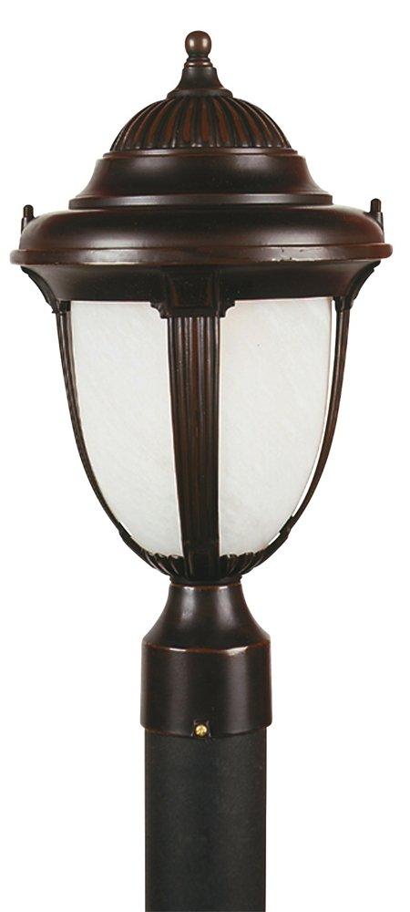 Casa Sorrento 16 3/4'' High Bronze Post Mount Light