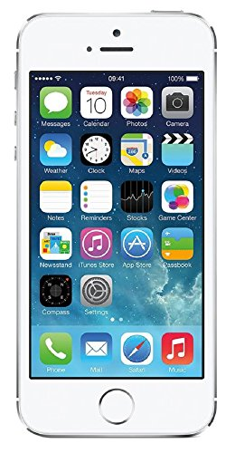 Apple iPhone 5S, GSM Unlocked, 32GB - Silver (Refurbished)