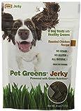 Pet Greens Treats Roasted Chicken Jerky-Style Dog Treats