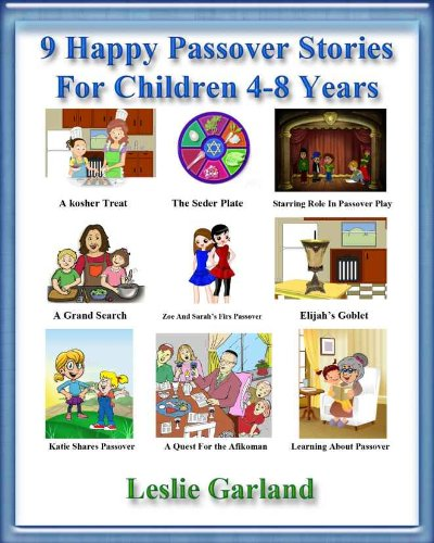 9 Happy Passover Stories - A Happy Holiday Children's Picture Book For 4-8 Years Old (A Happy Children's Picture Book Series 6) (English Edition)