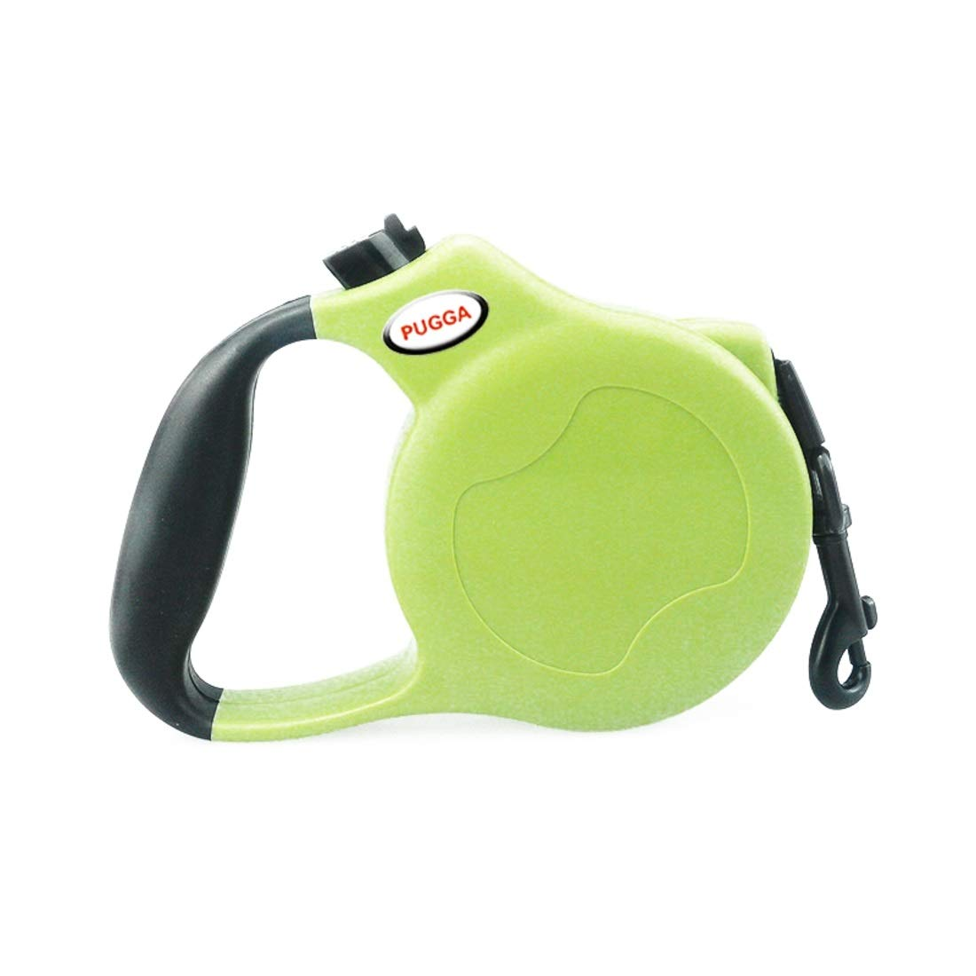 Green 5M-Flat rope Green 5M-Flat rope Souliyan Heavy Duty Retractable Dog Leash Great for Small, Medium & Large Dogs up to 110lbs (color   Green, Size   5M-Flat Rope)