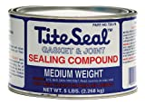 Tite Seal T2575-6PK Medium Weight Sealing Compound - 5 lb., (Case of 6)