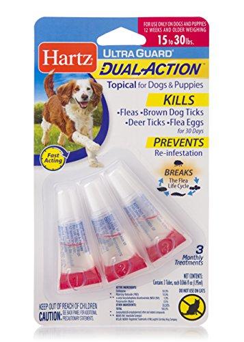 Hartz UltraGuard Dual Action Topical Flea & Tick Prevention