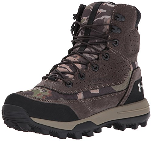 Under Armour Women's Speed Freek Bozeman 2.0 Ankle Boot, Ridge Reaper Camo Fo (943)/Cannon, 9.5