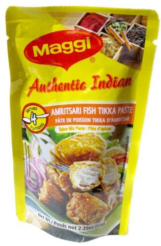 Maggi Authentic Indian Amritsari Fish Tikka Paste Spice Mix - 2.29oz
