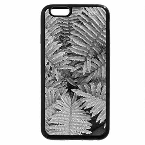 iPhone 6S Case, iPhone 6 Case (Black & White) - Colorful Garden 27 in green