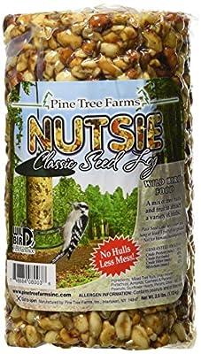 Pine Tree 8003 Nutsie Classic Seed Log, 40-Ounce