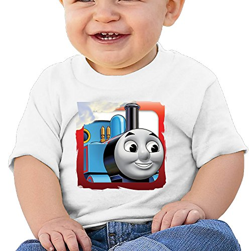 (Boss-Seller Thomas And His Friends Are 3 Short Sleeve T Shirts For 6-24 Months Newborn Baby Size 12 Months White)