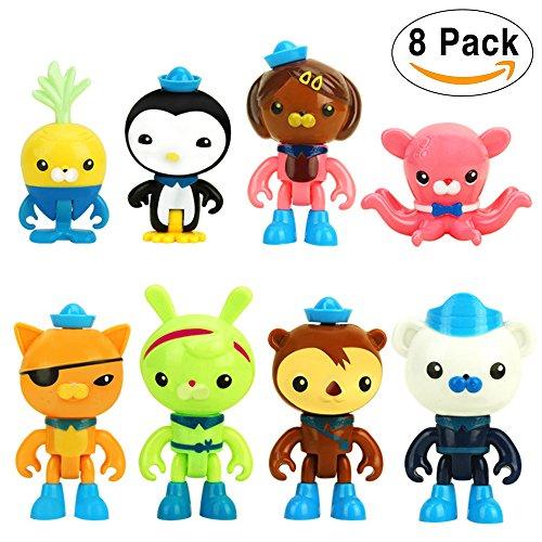 Quasi Octonauts Costume (Octonauts Action Figures - Octo Crew 8 Figure Pack: 1.8 - 3.0 IN Tall)