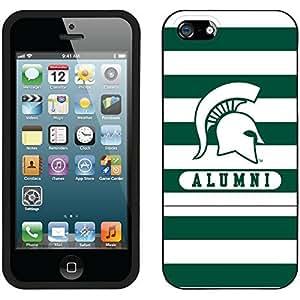 fahion caseiphone 6 4.7 Black Slider Case with Michigan State Alumni 2 Design