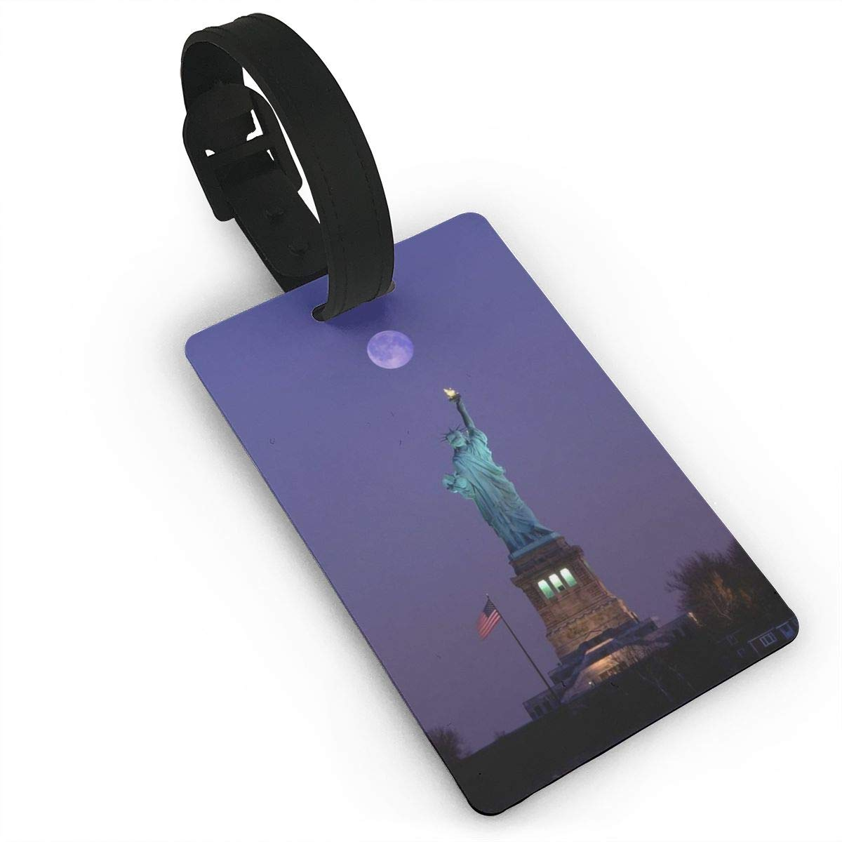 2 Pack Luggage Tags Statue Of Liberty Cruise Luggage Tag For Travel Tags Accessories