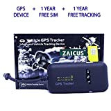 ZAICUS GPS TRACKER Security system CAR, BIKE, TRUCK and BUS real time location tracker (GPS (1 Year Free SIM & Subscription))