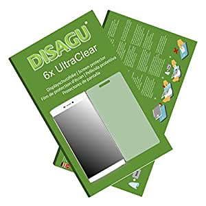 6x Ultra Clear Screen Protector for Huawei P8