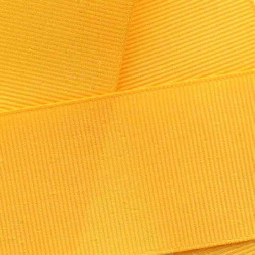 Yellow Gold Grosgrain Ribbon - 7