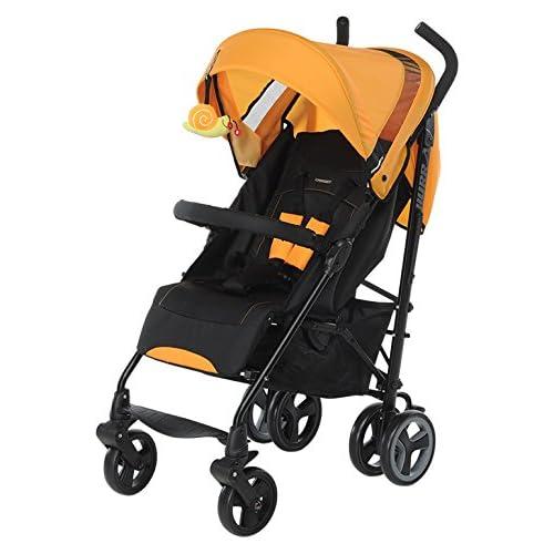 Foppapedretti Hurra - Silla de paseo ligera y compacta, color naranja a buen precio