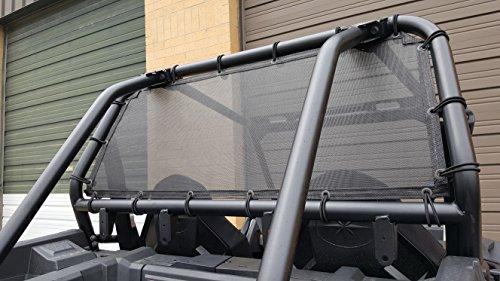 Rear Roof Panels - Polaris RZR Mesh Rear Window Panel 2014-2019 900/1000