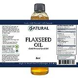 Flaxseed Oil - 100% Pure Flax Seed Oil - 0
