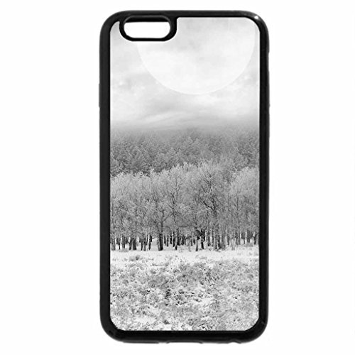 iPhone 6S Case, iPhone 6 Case (Black & White) - TO BE UNDER THE SKY