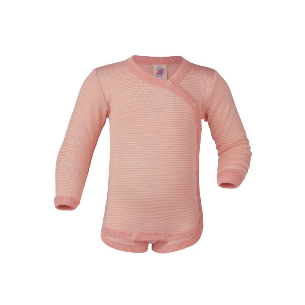 Body in lana seta con apertura laterale -col. ghiaccio ENGEL