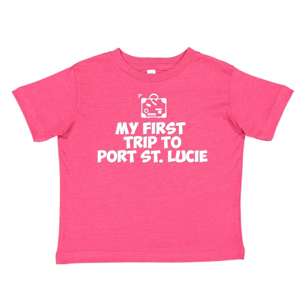 My First Trip to Port St Lucie Toddler//Kids Short Sleeve T-Shirt