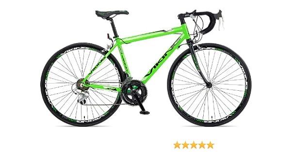 Viking - Bicicleta de carretera (híbrida, de montaña, urbana, Trekking, aluminio, de carreras, 59 cm, 14 velocidades) , talla 59cm: Amazon.es: Deportes y aire libre