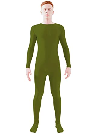 d6167a46985 Amazon.com  Ensnovo Adult Lycra Spandex One Piece Unitard Full Bodysuit  Costume  Clothing