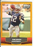 Football NFL 2004 Draft Picks and Prospects Chrome #53 Tom Brady Patriots