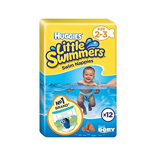 オリジナル 少しスイマーはパックあたり2-3 12のサイズを (Huggies) Little (x 6) - Huggies 6) Little Swimmers Huggies Size 2-3 12 per pack (Pack of 6) [並行輸入品] B01M0WVYVI, イーノスタイル:565f6912 --- ciadaterra.com