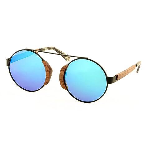 Vickmars AKIRA Gafas de sol / Patillas en madera de zebrano ...