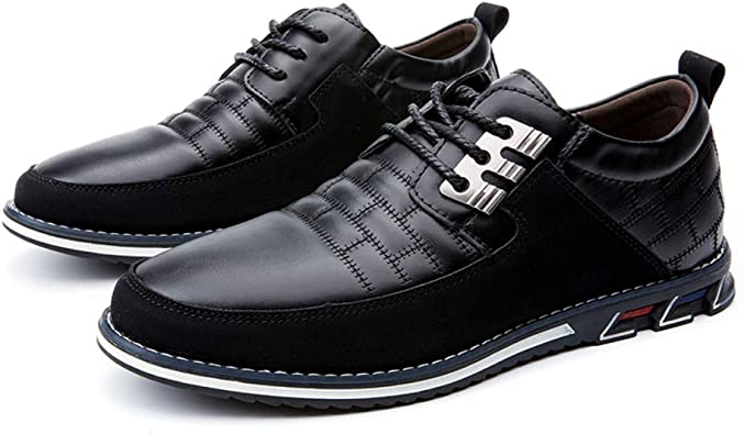 Details about  /Mens Dress Formal Business Leisure Shoes Oxfords Work Office Buckle Carved New L